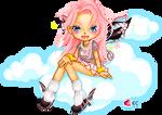 eCandy theme doll-2 by pixelpink