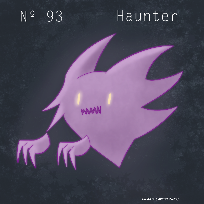 Haunter Pokemon by TheXHero