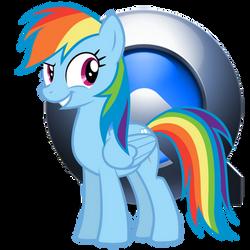 Rainbow Dash Quicktime Icon