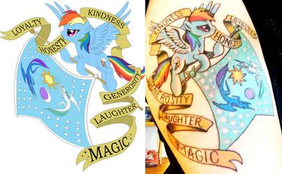 Best Pony Tattoo