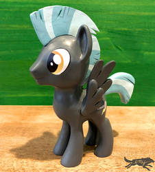 MLP Figure-Thunderlane (For Sale at BABSCon!) by LostInTheTrees