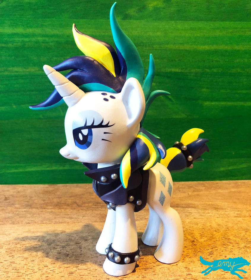 Mlp Figure-Punk Rarity (For Sale at BABSCon!)SOLD by LostInTheTrees
