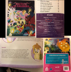My Work on Haunting of Equestria!