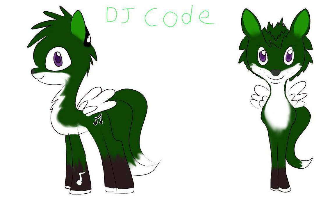 Code's Ponysona Form by CubCode