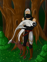 Training Tier 1 - Trust: Sleepy anyways! by Arinatira