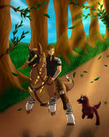 Basic Trust Training Tier 2: Time for a walk! by Arinatira
