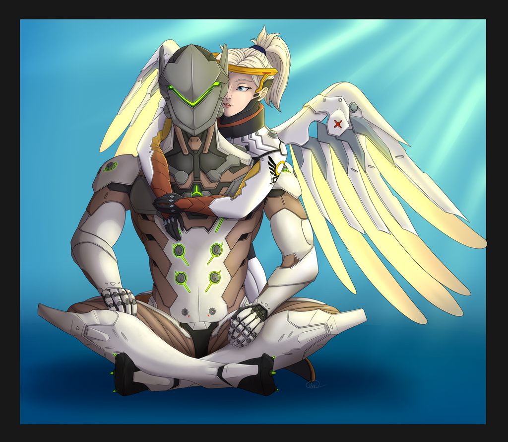Genji X Mercy Fanfiction - 0425