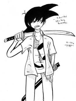 Ace Stryker (Manga Supplies Test)