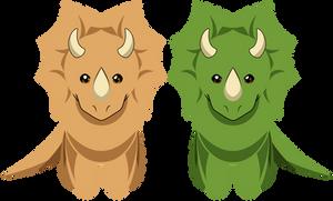 Triceratops [Kisekae Exports]