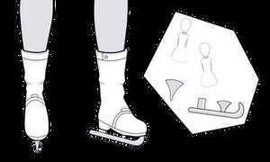Ice Skate Blades [Kisekae Exports]