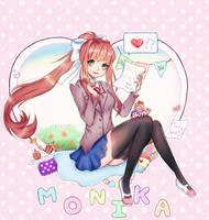 Just MONIKA by elpheltel