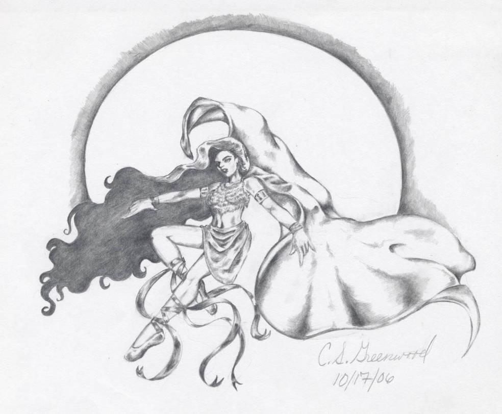 Goddess by DarkMedellia686