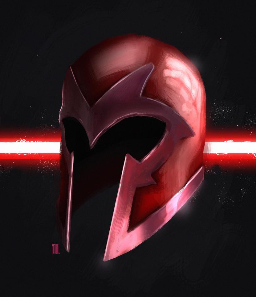 Magnetos Helmet Sketch By Arthurange