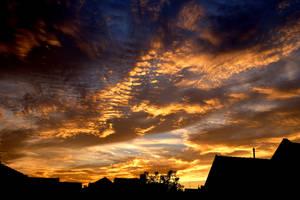 Yellow Stripes - Home Sky III