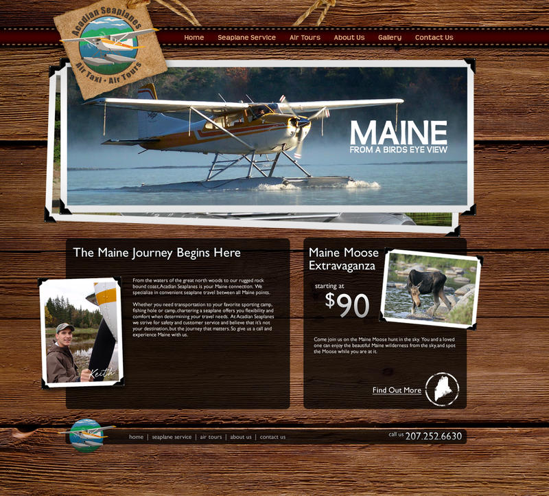 Acadian Seaplanes Website