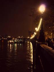 Romantic river walk