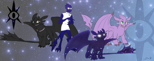 SoulFire's family by SoulFire-Dragon