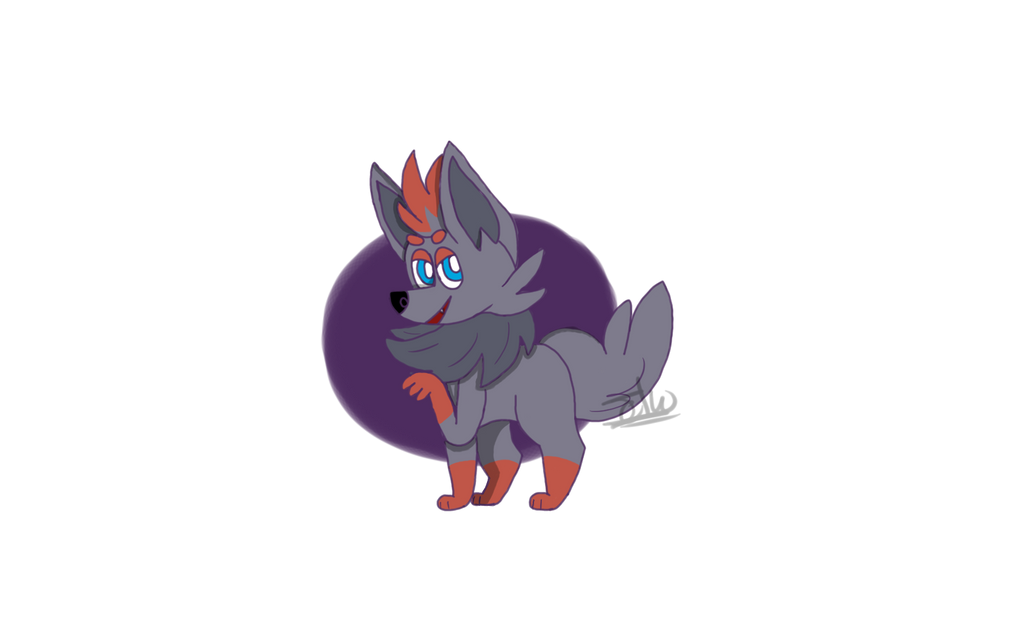 dragon type zorua and - photo #3