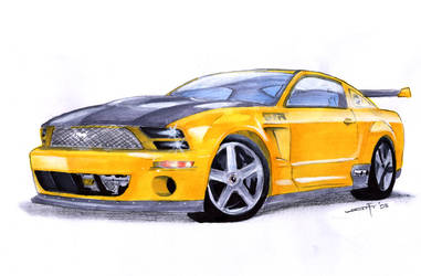 mustang GTR by rephlux