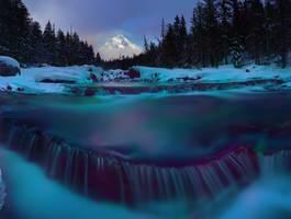 McDonald Creek Winter by NickSpiker