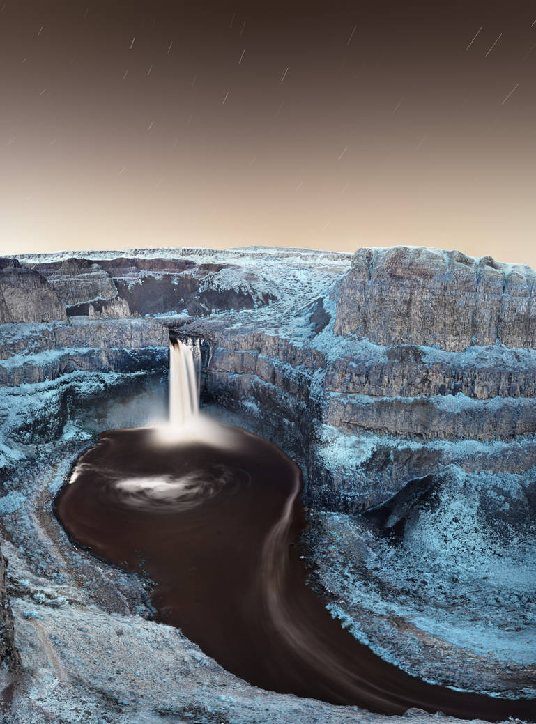 Palouse Falls by NickSpiker