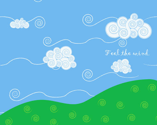 Feel the wind. 1280x1024