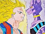Goku vs Beerus/Dragon Ball Z