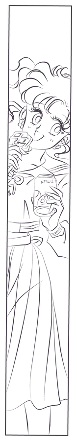 Lineart - Makoto