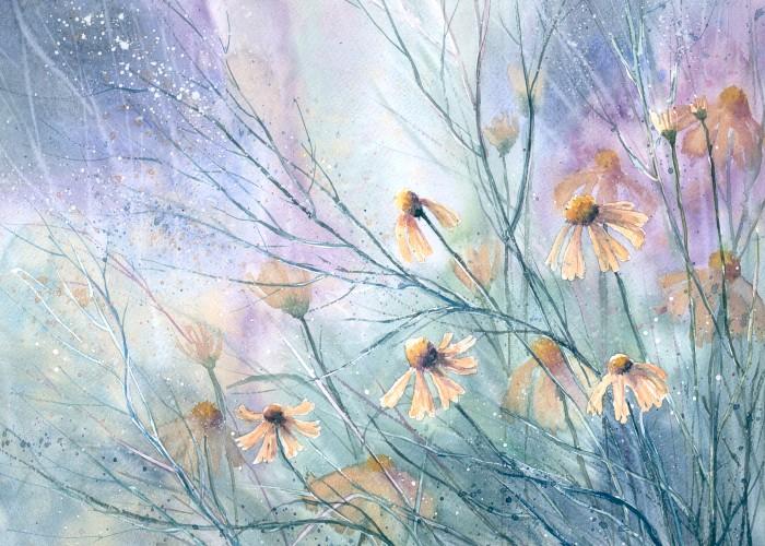 Pastel meadow by nibybiel