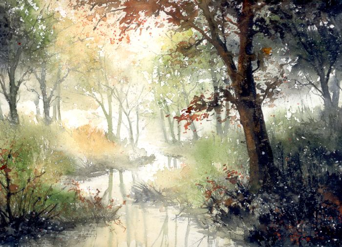 Silence is hazy color by nibybiel