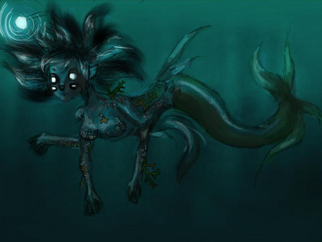 Deep Sea Mermaid by grosslittlething on DeviantArt