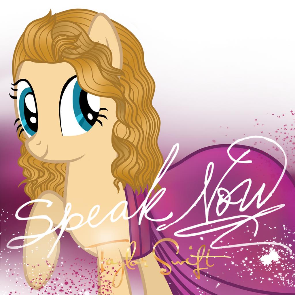 Taylor Swift Pony: Speak Now by AldoBronyJDC on DeviantArt