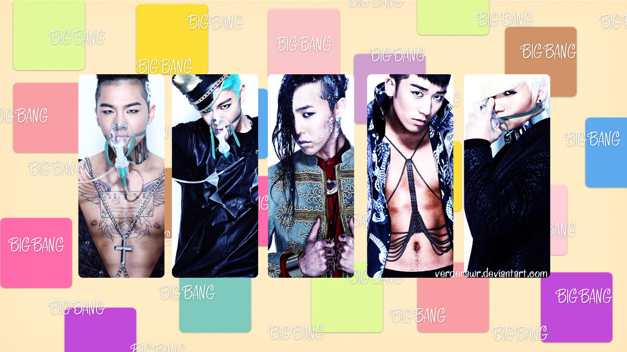 BIGBANG [Wallpaper #2] by verderawr