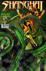 Shanghai Comic Cover by skulfrak