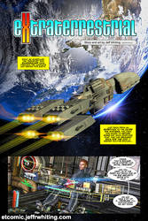 Extraterrestrial Comic Page 1 by skulfrak