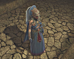 Priestress of Mitra T3 front by Surasundari