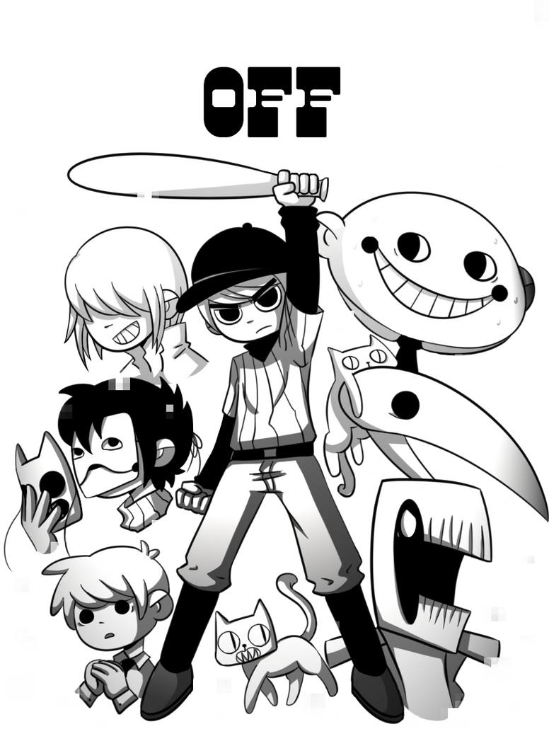 OFF - Scott Pilgrim Style [transparent] by Moshiro