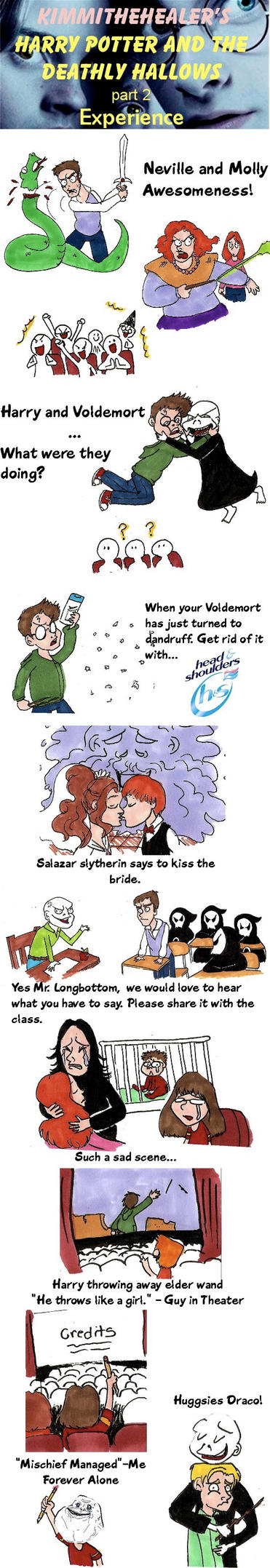 Spoilers Harry Potter Movie by KimmitheHealer