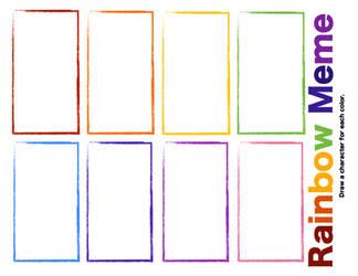 Rainbow Meme by KimmitheHealer