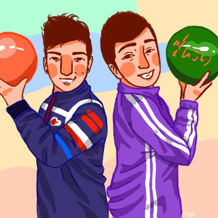 Bowling Bros by the26owls