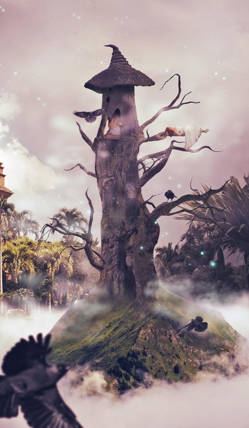 Magic tree by bej-be