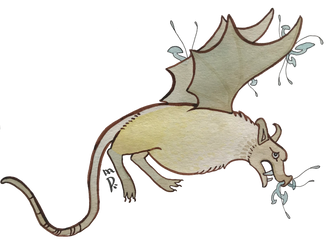 Little Brown Bat (Beastiary Edition)