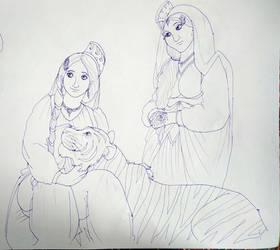 Jasmine and Farzana