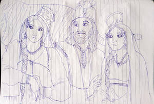 The Royal Family Of Agrabah