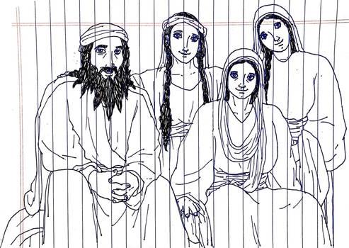 Joachim and his Family