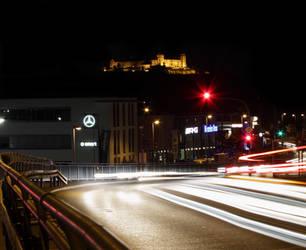 Wuerzburg at Night 01 by Khaosprinz
