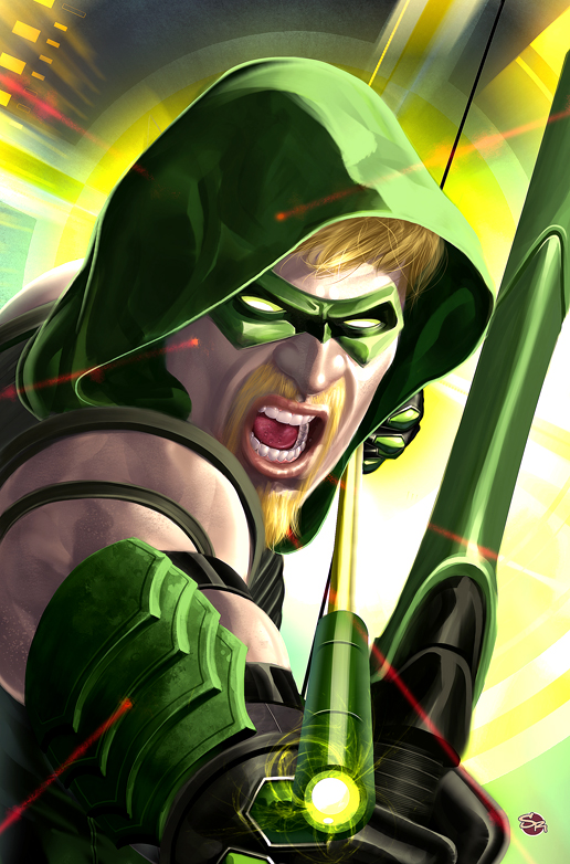 The new Green Arrow by Rennee
