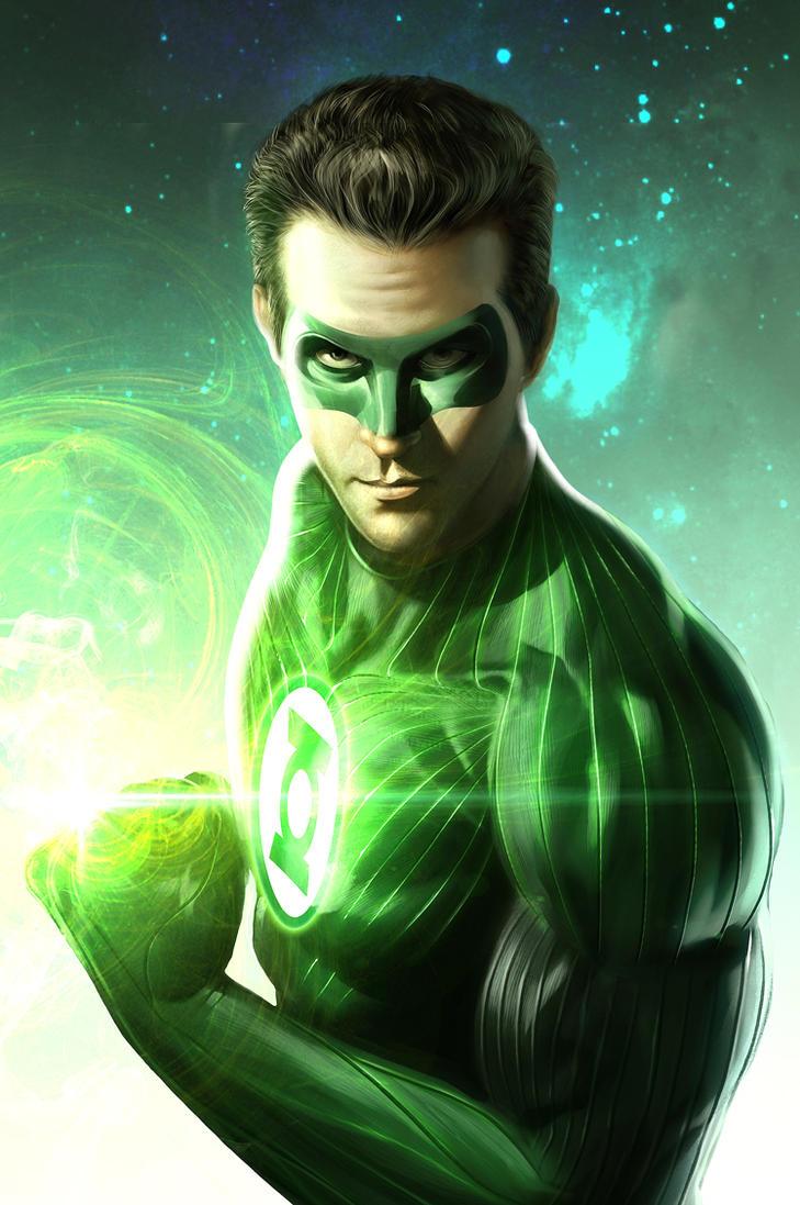 green lantern-doritos by Rennee