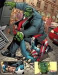 Hulk vs Captain
