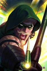 The New Green Arrow By Rennee-d3izuls5